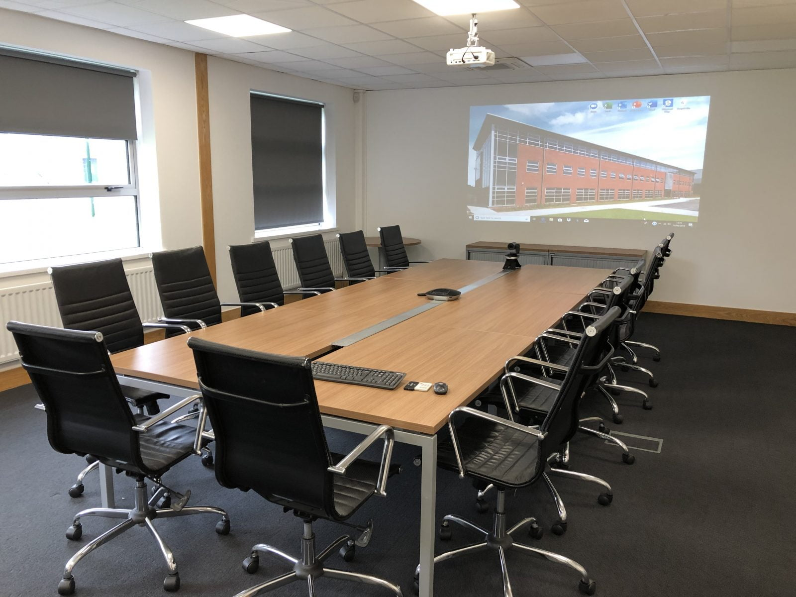 Boardroom For Hire (Up to 18 People)